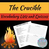 The Crucible Vocabulary List