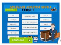 Aplikasi Absensi Siswa Otomatis Versi 2018 Format Excel