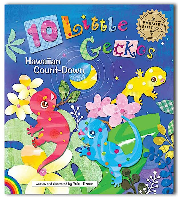 10 Little Geckos: Hawaiian count-down