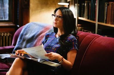 Lucy Liu as Joan Watson in CBS Elementary Season 2 Episode 4 Poison Pen