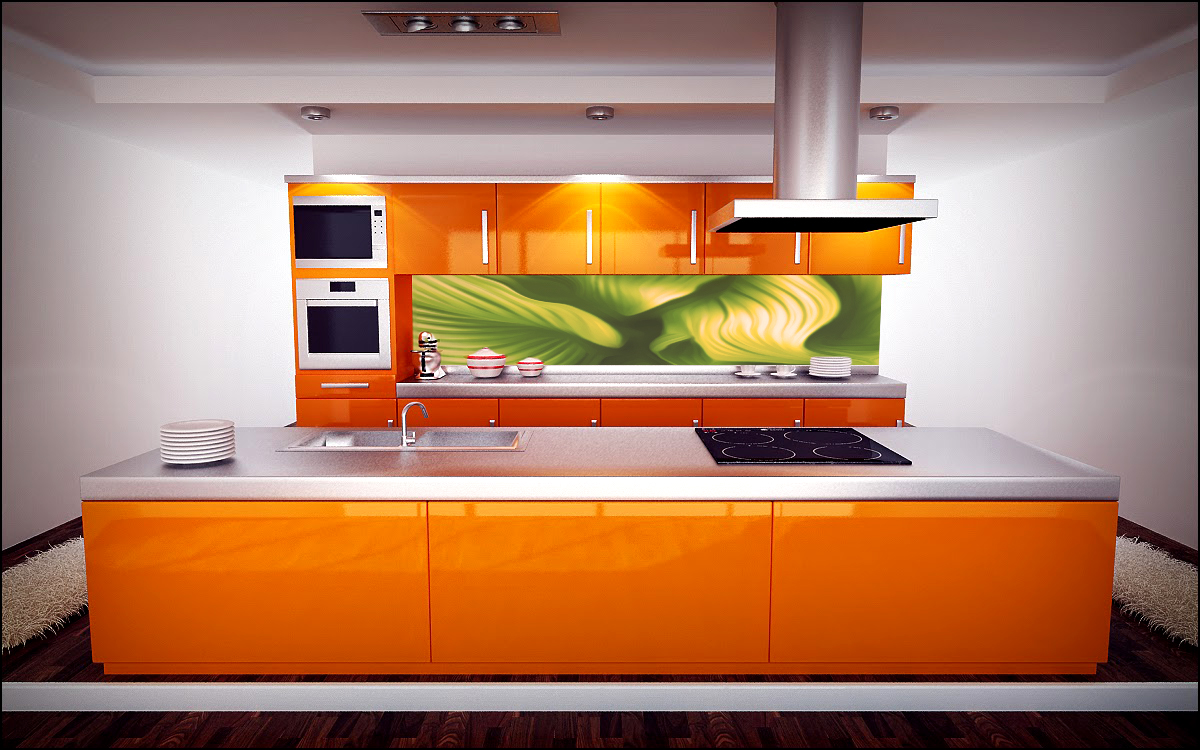 Digital art for interior designers kitchen and bathroom for Interior design kitchen splashbacks