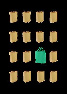 Final Go Green Bag Design