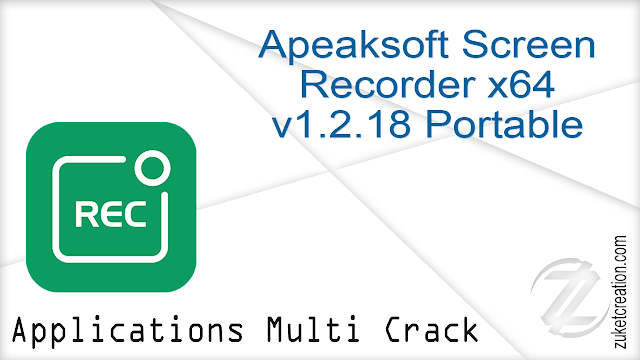 Apeaksoft Screen Recorder x64 v1.2.18 Portable