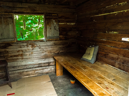 Hiker's Cabin on the Waupaca River Segment of the Ice Age Trail