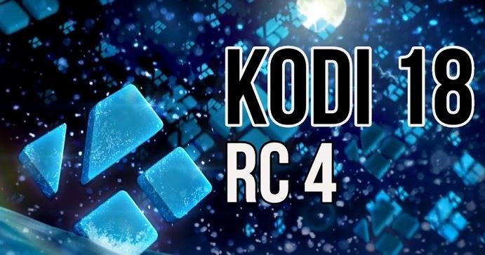 kodi version 18 rc4 download