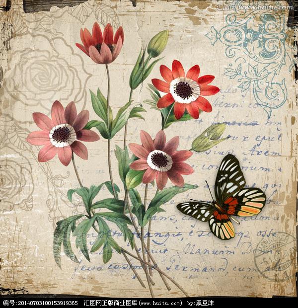 Imprimolandia L Minas De Flores Vintage