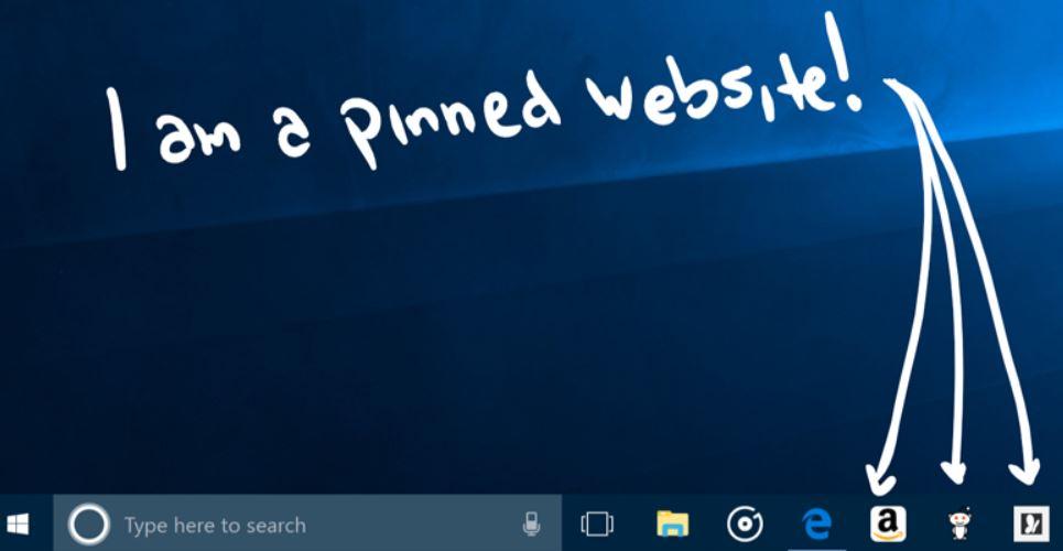 كيفية-إضافة-إختصار-أي-موقع-إلى-شريط-المهام-على-ويندوز-10