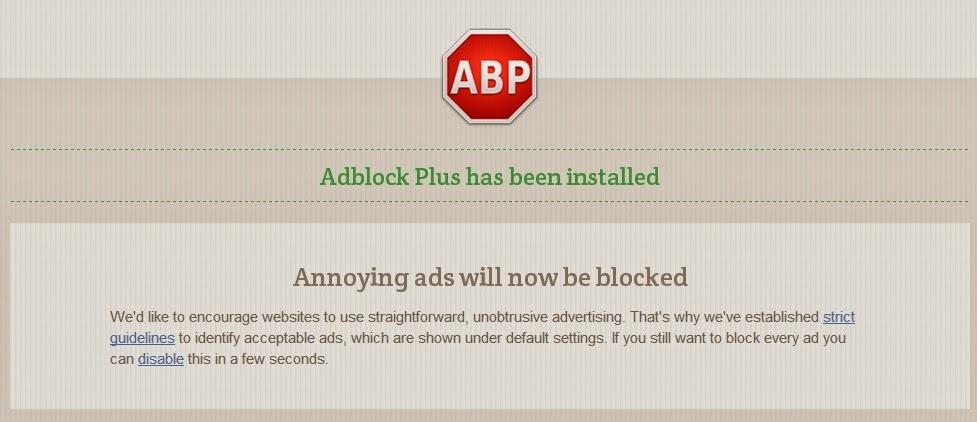 Block Annoying Ads in Google Chrome with Adblock Plus