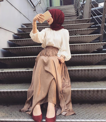 Hijab Long Moderne : Styles 2018 / 2019