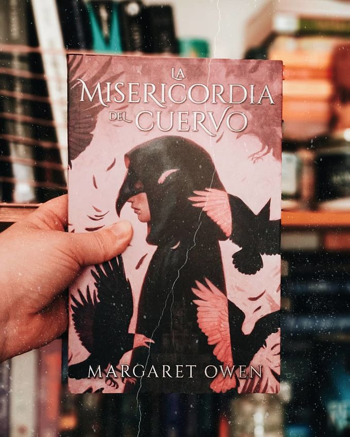 Foto del libro La misericordia del cuervo de la autora Margaret Owen