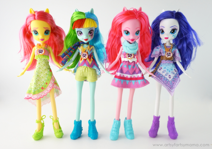 My Little Pony Equestria Girls: Legend of Everfree Dolls at artsyfartsymama.com