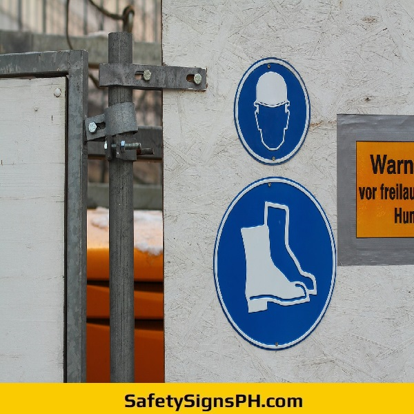 Mandatory PPE Signs Philippines