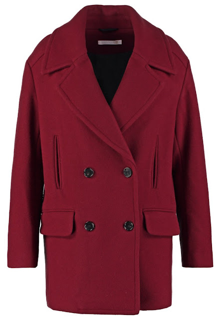 Wool Bordeaux Coat
