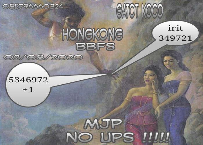 Kode syair Hongkong Minggu 2 Agustus 2020 48