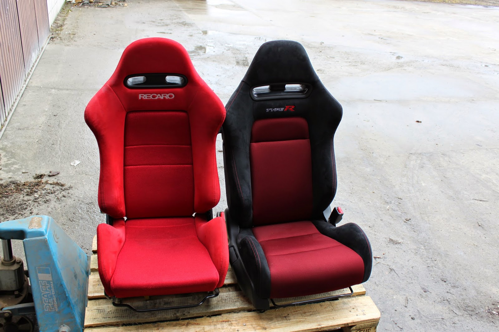 seats fn2 jdm dc5 recaro honda type chair front gaming civic homemade rsx acura integra
