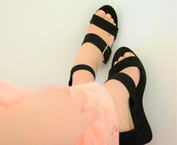 zapatos de cuña
