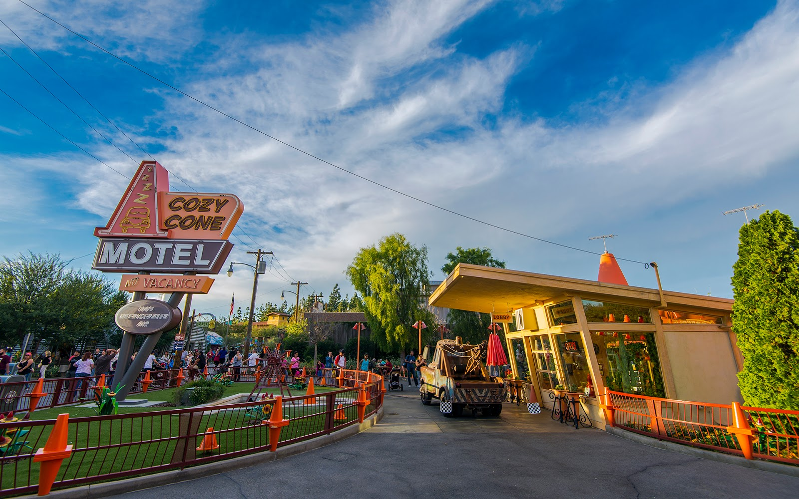 Motel  Disney Way Anaheim Ca
