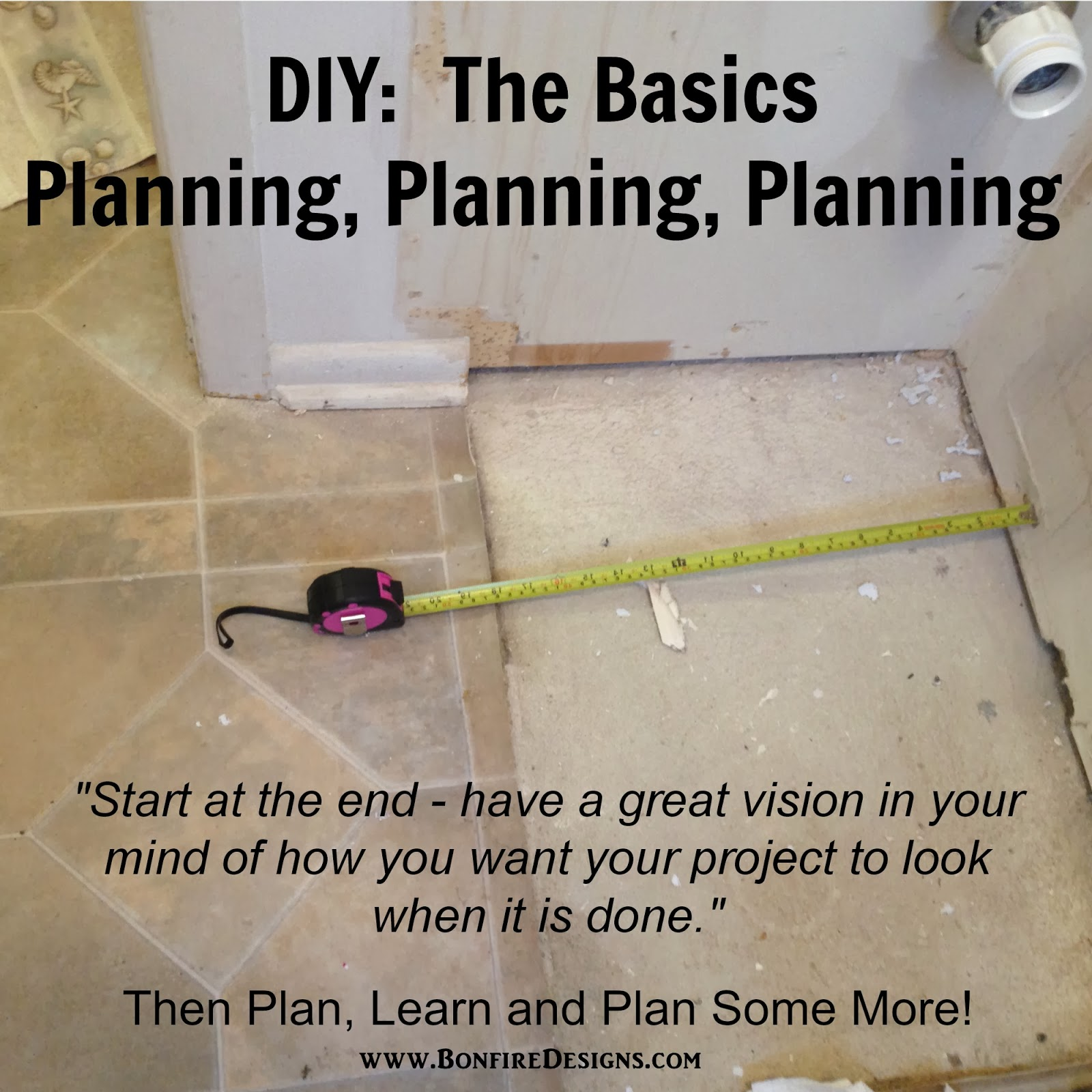 DIY Basics Have A Great Plan