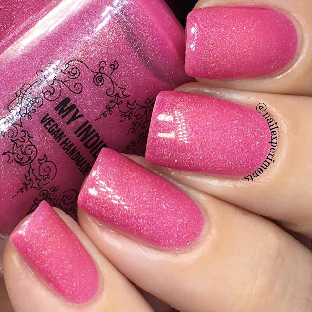 my indie polish the pinks collection polish in big girl panties