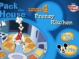 Ayuda a Goofy a preparar la comida para todos los invitados del club de Mickey Mouse, utiliza la rapidez de reflejos y habilidades de memoria si deseas entregar las órdenes adecuadas en el momento adecuado. La zona de la cocina es un juego de memoria, primero debes tomar la orden del carrusel en la parte superior, luego, presta atención para elegir los ingredientes adecuados. Cuando se termina alguno de los ingredientes puedes reponerlos del refrigerador.