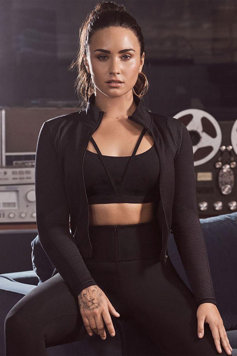Demi Lovato Posing For Fabletics