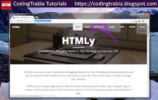 Install HTMLy 2.7.4 flat-file CMS / Blog on Win7 localhost via XAMPP ( PHP7 ) 6