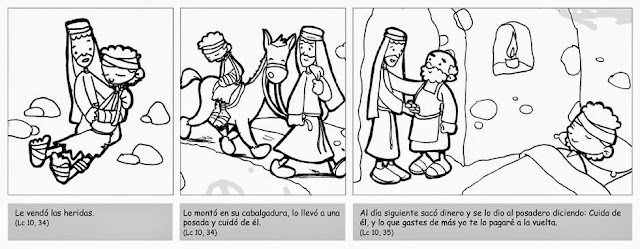 Desde mi rincón de religión: El buen samaritano -actividades-