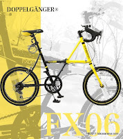 1 Sepeda Lipat DOPPELGANGER FX06 RTR 20 Inci