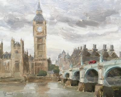 #95 'Westminster Bridge, London' 8×10″