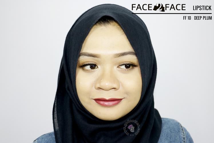 Face2Face Lipstick Deep Plum