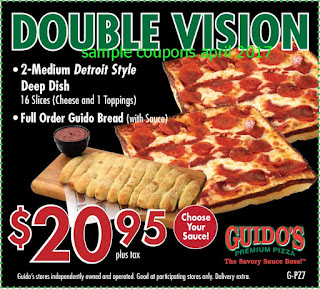 free Guidos Pizza coupons april 2017