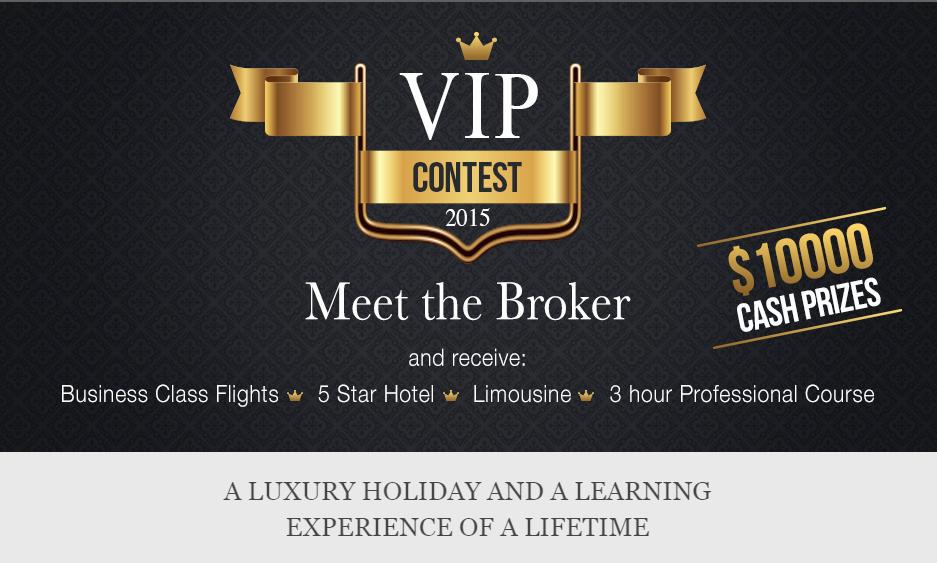 Cuộc thi VIP contest 2015 HotForex