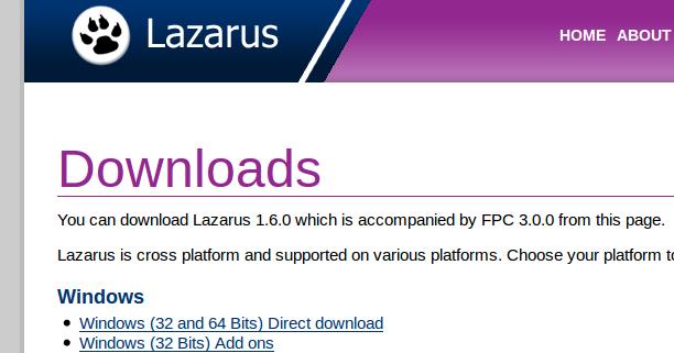 Pascal] ใช้งาน Lazarus บน Linux [Install Lazarus on Linux