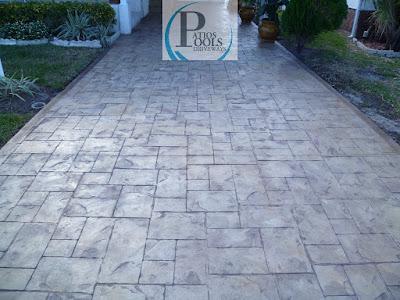 #stampedconcrete #decorativeconcrete #driveway #concrete