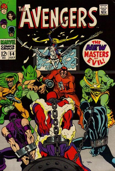 Avengers #54, the Masters of Evil and the Black Knight