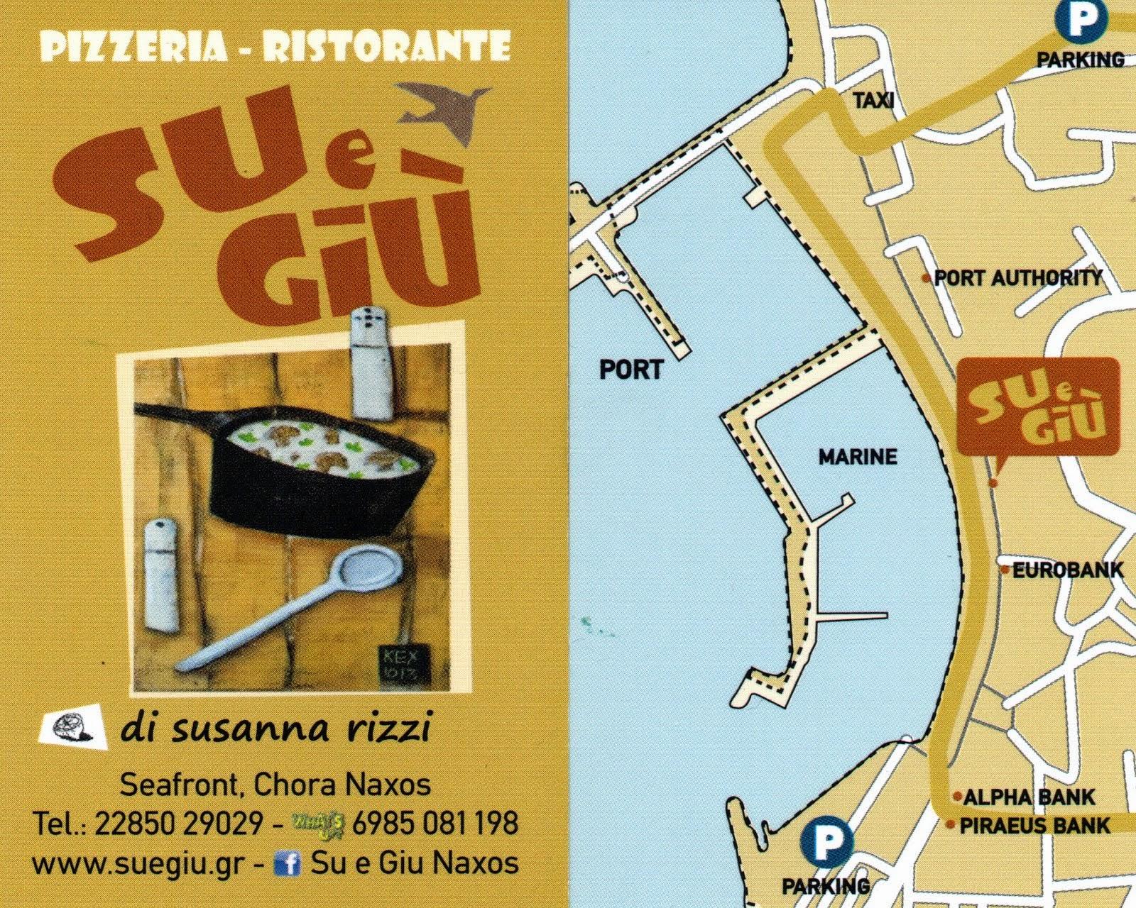 Αποτέλεσμα εικόνας για  εστιατόριο Su e Giu χώρα Νάξου