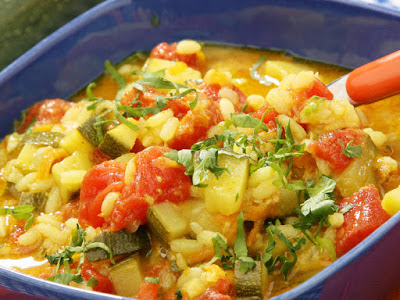 This is a hearty stew perfect for dinner Arab Tuna Stew Recipe