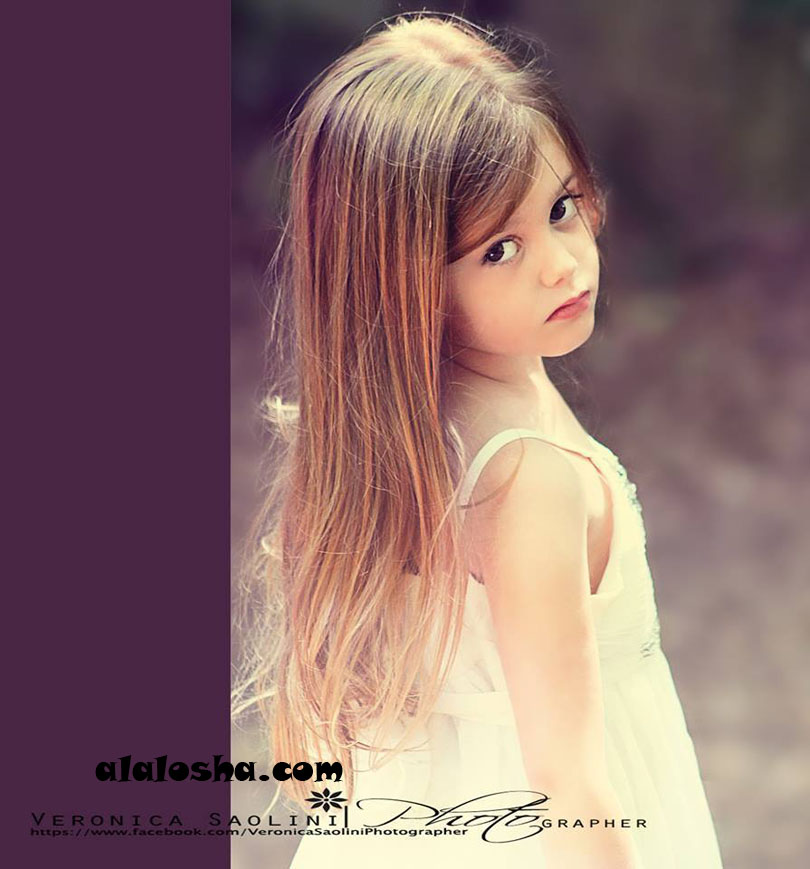 CHILD MODEL of the DAY: Laura (ITALY)