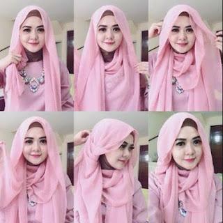 inilah Kreasi Jilbab Pashmina Terbaru 2016