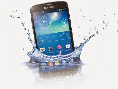 điện thoại vào nước