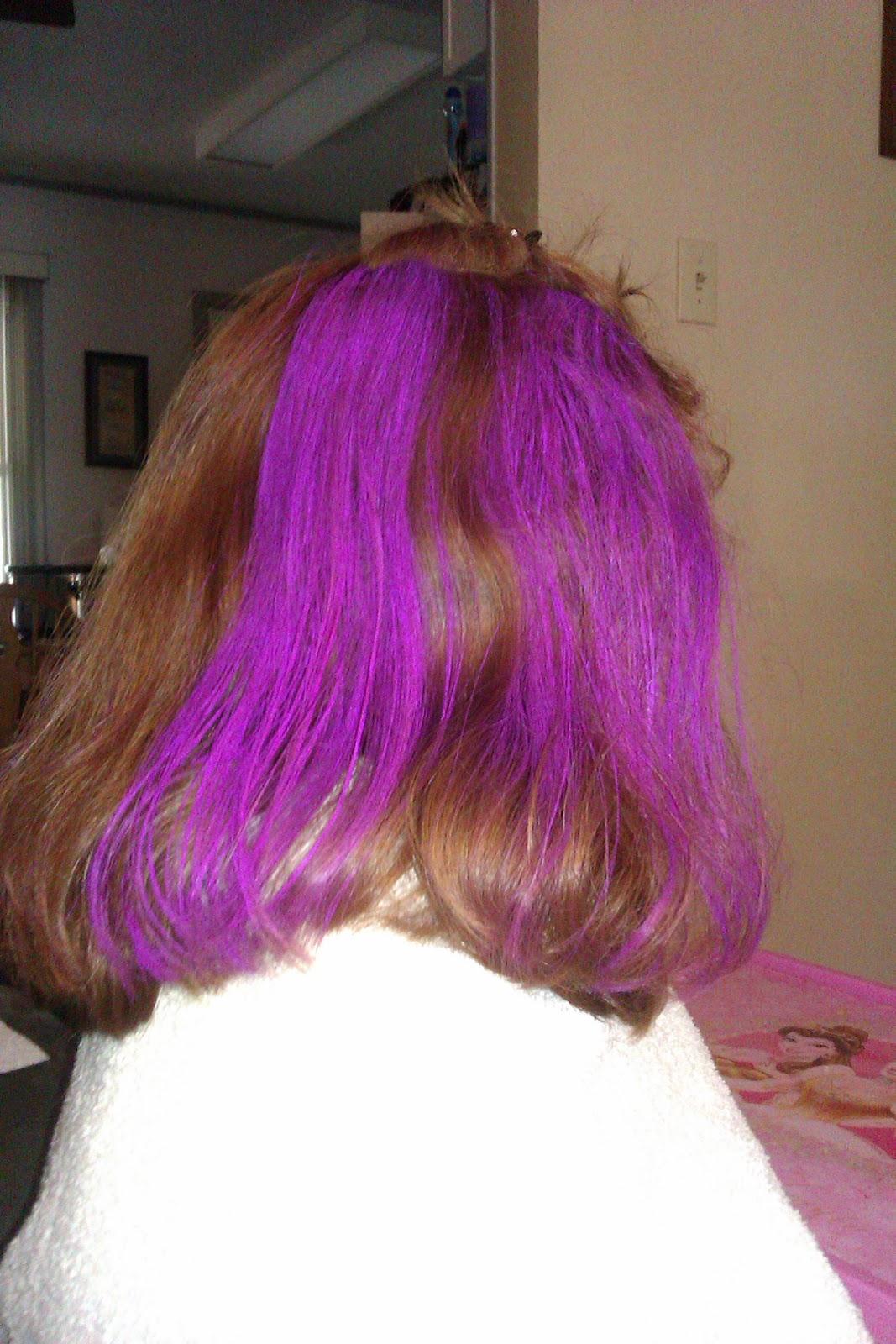Hot Ink: Splat Washables Hair Color: No Commitment, No Problem