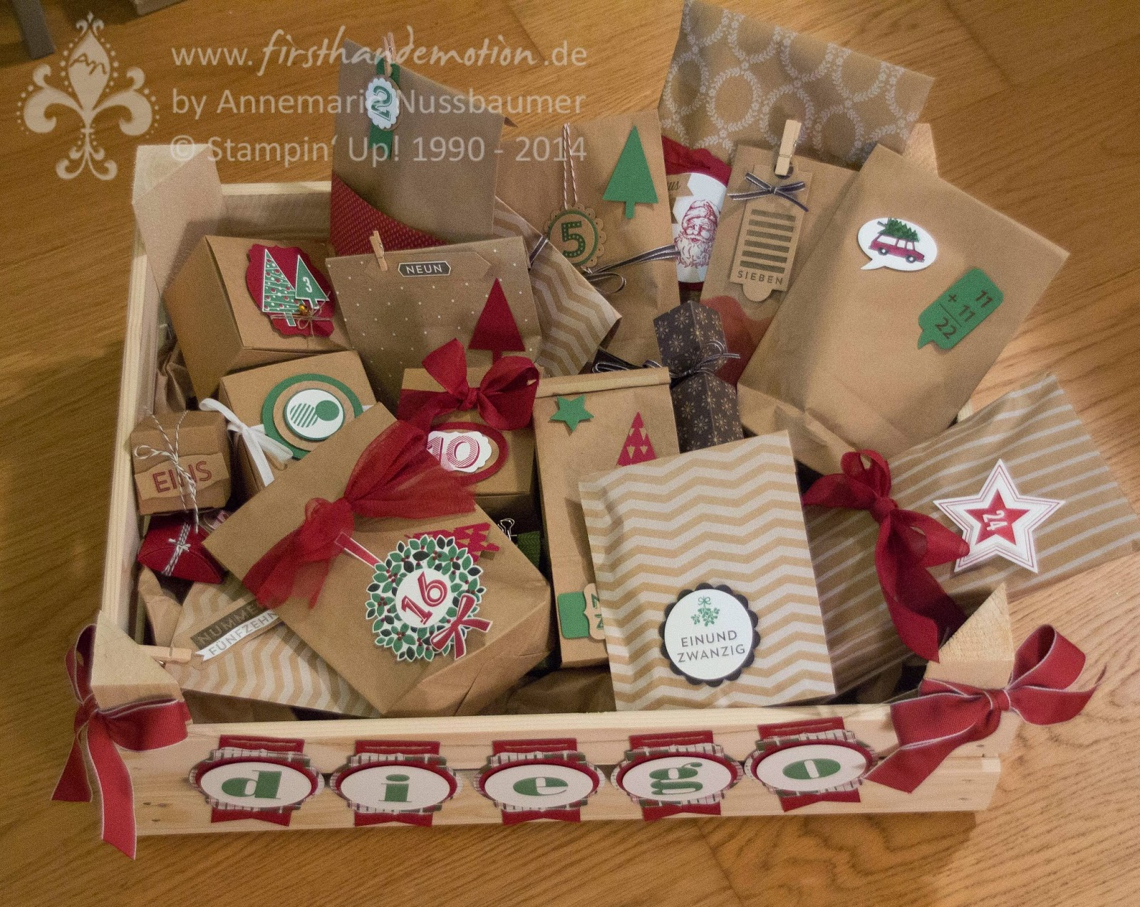 Fabelhaft First Hand Emotion: Stampin' Up! Adventskalender und Angebote der  RD07