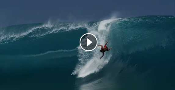 HURLEY MATAHI DROLLET AND MICHEL BOUREZ SURF MASSIVE TEAHUPO O