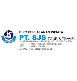 Jatengkarir - Portal Informasi Lowongan Kerja Terbaru di Jawa Tengah dan sekitarnya - Lowongan  Kerja PT SJS Tour & Travel Surakarta