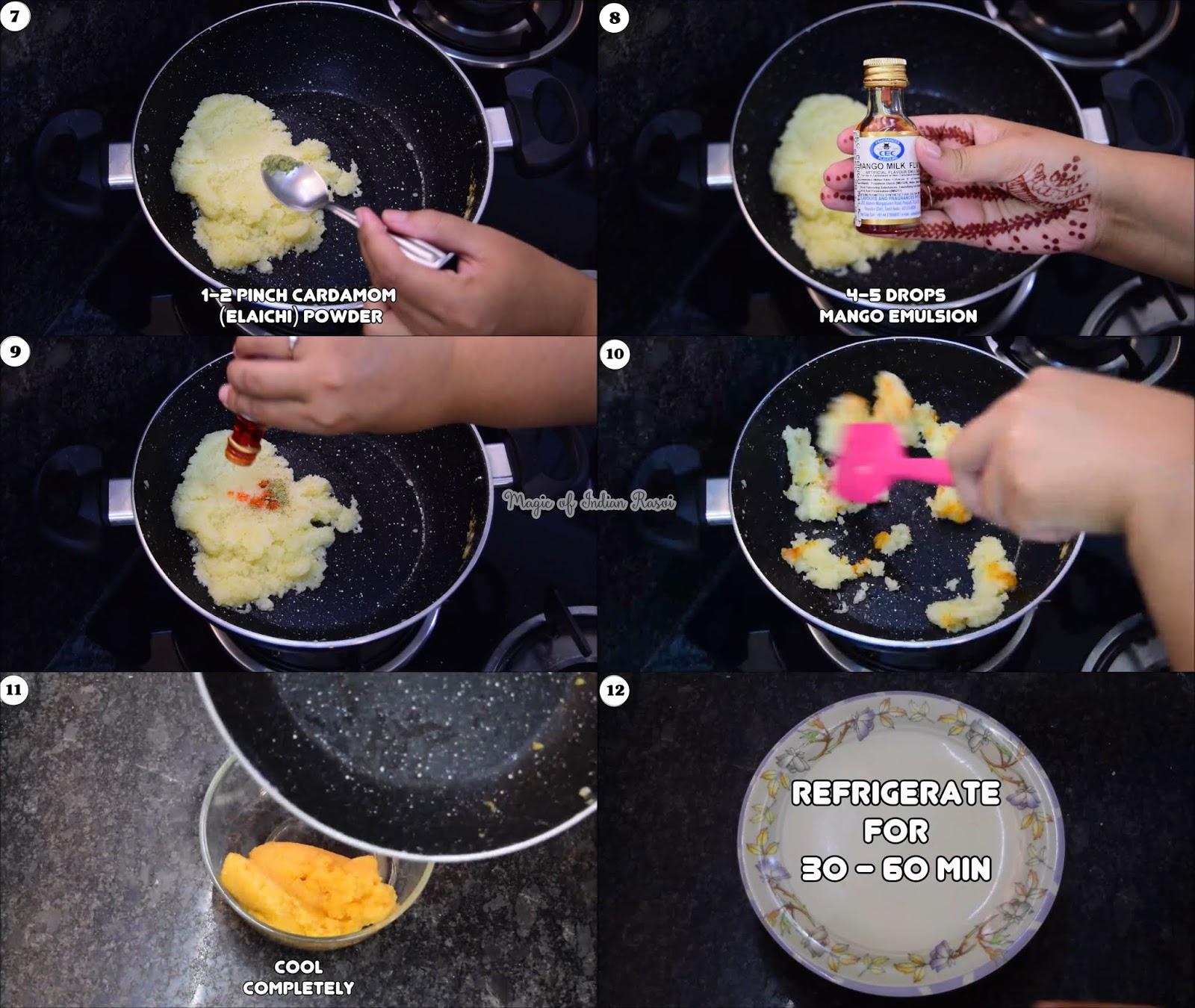 Apple Coconut Peda Recipe - दिवाली के लिए बनाये एप्पल के शेप के कोकोनट पेड़ा बिना मावा या कंडेंस्ड मिल्क के - Priya R - Magic of Indian Rasoi