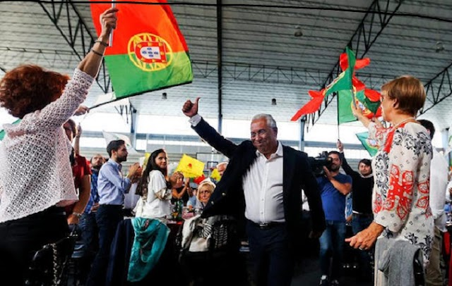 ΠΟΡΤΟΓΑΛΙΑ: Κυβέρνηση Σοσιαλιστών με την στήριξη της Αριστεράς -