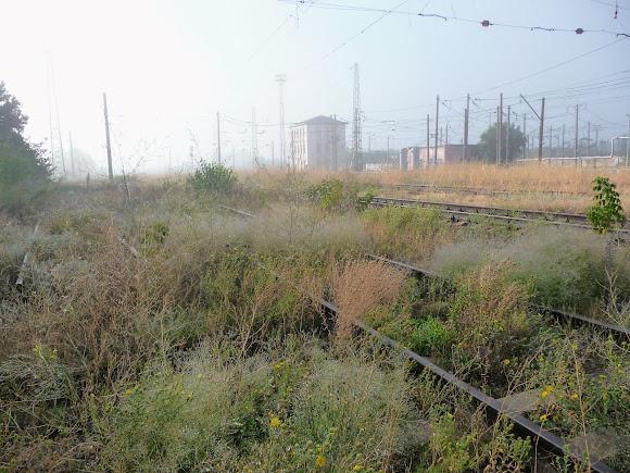 Авдіївка. У бік Донецька і Ясинуватої сполучення немає. Кінцева станція для електропоїздів
