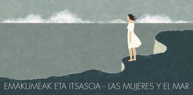 Las mujeres y el mar. Ilustración de Elena Odriozola