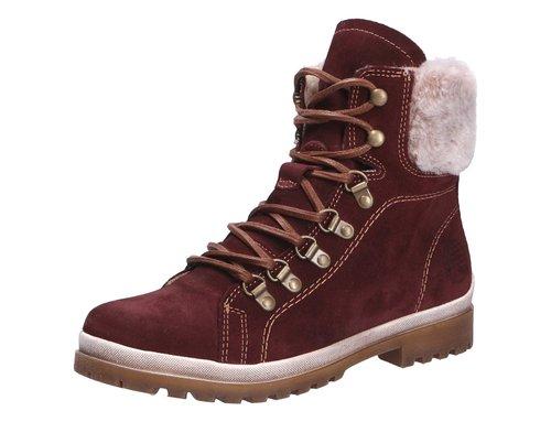 d52c7b4a1f8e3f Tamaris Boots Schnürstiefel für Damen im Stil von Timberland Stiefeln