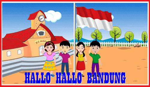 HALO - HALO BANDUNG, LIRIK LAGU HALO - HALO BANDUNG
